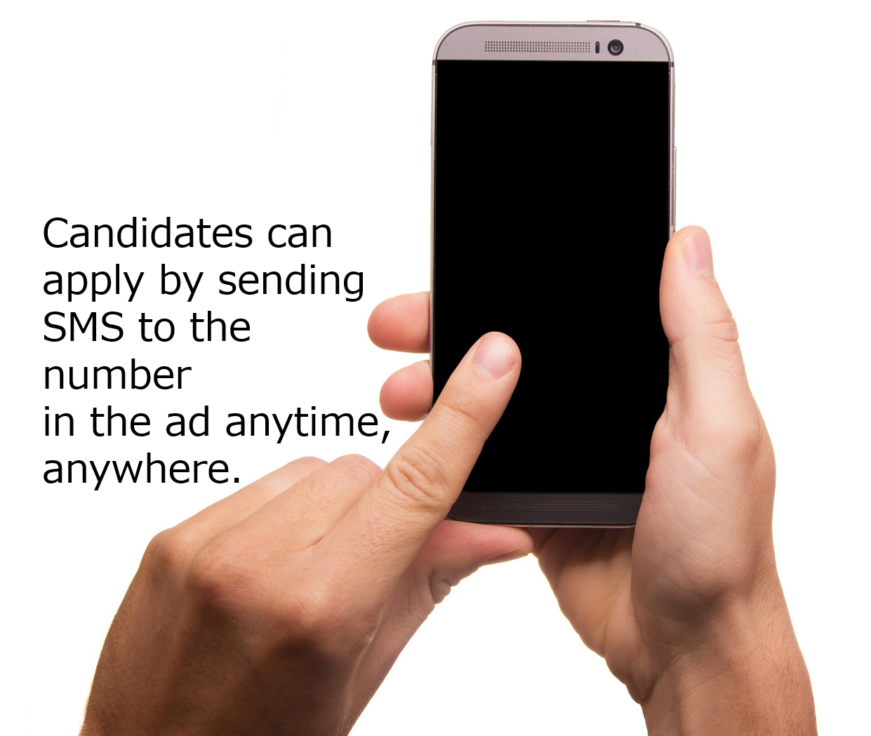 SMS anytime & anywhere