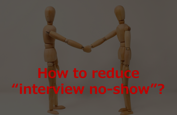 how to reduce interview no show